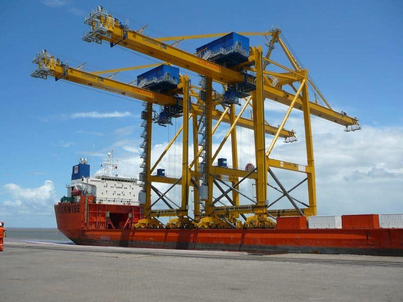 Ship To Shore Gantry Crane Nedir : Ipaf training consulting fitac ie