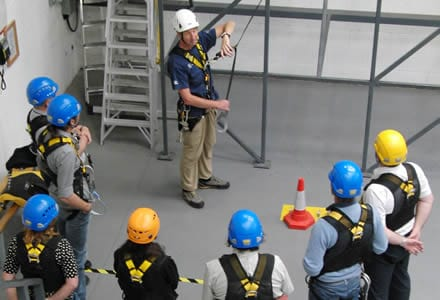 Working at Heights Training FITAC Health & Safety